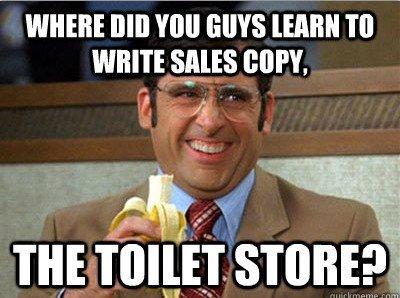Bad Sales Copy