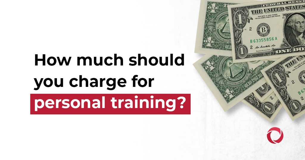 How much should you charge for personal training